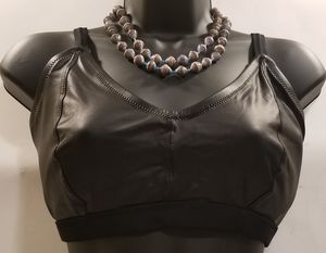 Forever 21 Plus Black Faux Leather Bra (NWOT) for Sale in Washington, DC