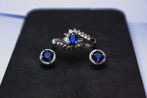 Matching ring and earrings set for Sale in Hudson, FL