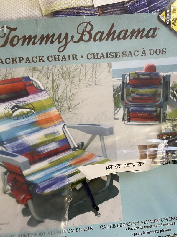 Tommy Bahama Backpack Chair New