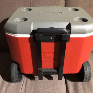 Coleman 60 Quart Wheeled Cooler for Sale in Irvine, CA