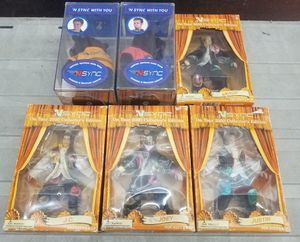N'sync Action Figures and Collectible Bears - New in Box for Sale in San Francisco, CA