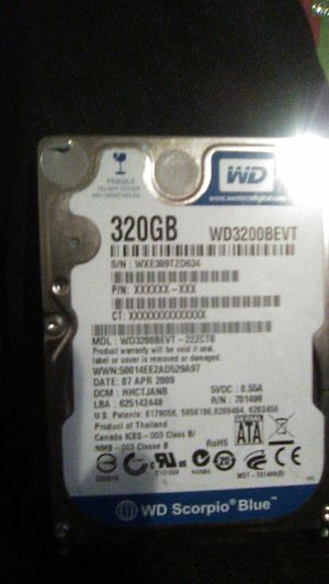 320gb laptop hard drive for Sale in Fresno, CA
