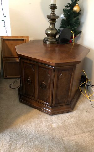 End table with storage for Sale in Rockville, MD
