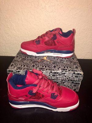 """Air Jordan Fiba 4 """"Gym Red"""" for Sale in Miami, FL"""