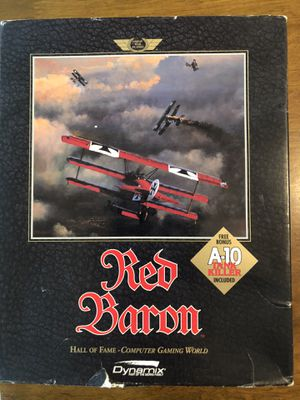 Red Baron PC game for Sale in Pleasant Hill, CA