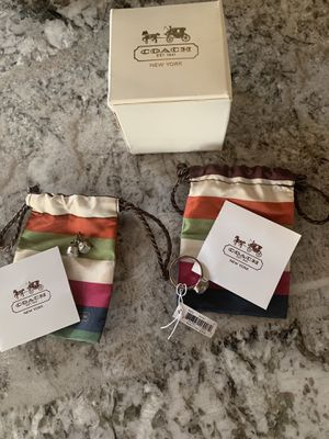 Coach matching ring and earring set for Sale in Dallas, TX