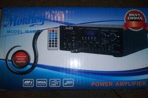Moukey Wireless Amplifier w/ Remote New for Sale in Pulaski, TN