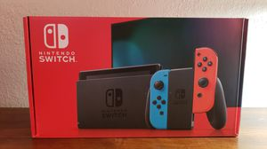 Nintendo Switch with Red/Blue Joy-Con for Sale in Carlsbad, CA