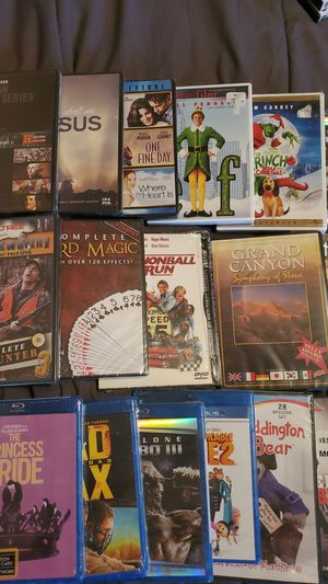 (19) NEW SEALED DVDs/BluRays movies for Sale in Henderson, NV