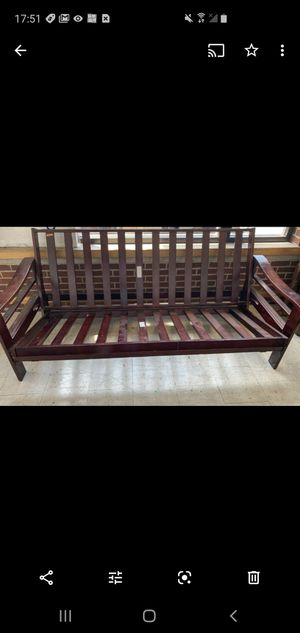 Wood futon base for Sale in Northumberland, PA