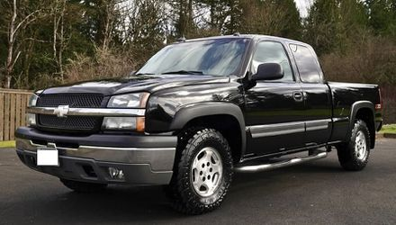 💕💕EXTRA CLEAN👌CAR CHEVROLET SILVERADO 2003 WITH NAVIGATION SYSTEM for Sale in Tacoma,  WA