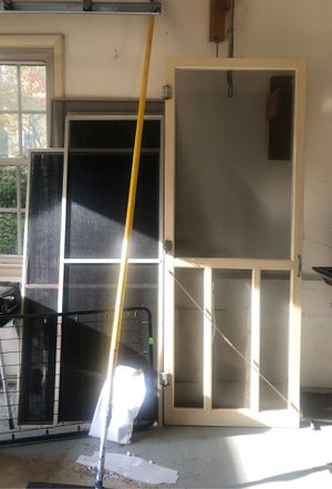 Screen door window screen for Sale in Manassas, VA