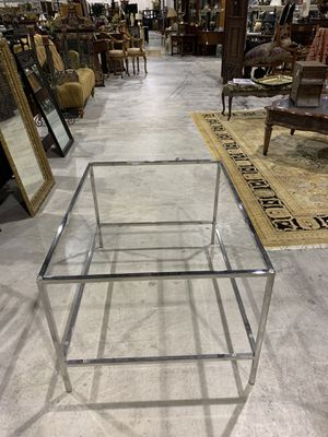 Chrome Coffee Table Frame - No Glass - 23 in. H x 40 L x 30 W for Sale in West Palm Beach, FL