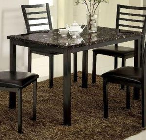 "Furniture of America Colman 48"" Rectangular Leg Dining Table! for Sale in Fresno, CA"
