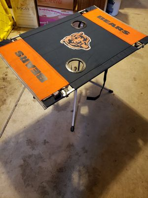 Chicago Bears NFL football foldout table for Sale in Gresham, OR
