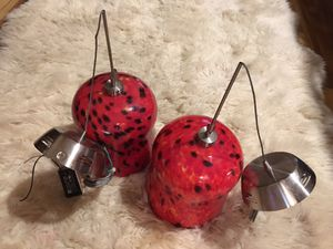 Two hanging lamps for Sale in Cape Coral, FL