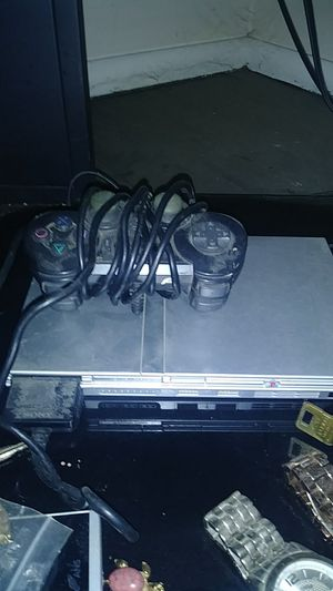 Ps2 slim plus guitar hero 2 game and guitar. Both work great. for Sale in Columbus, OH