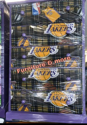 Team Lakers dresser / Cajonera Lakers team for Sale in Carson, CA