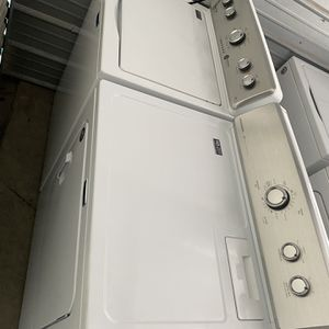 Washer Dryer Very Good Condition And Working Perfectly 6 Months Of Warranty for Sale in Naples, FL