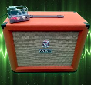 Biyang Wangs VT-1H Amp Head with Orange PPC112C Cab for Sale in EASTAMPTN Township, NJ