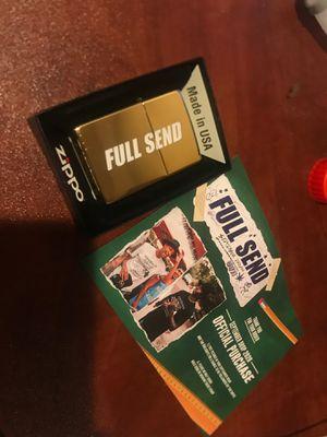 Full send gold zippo lighter #963 for Sale in Corona, CA