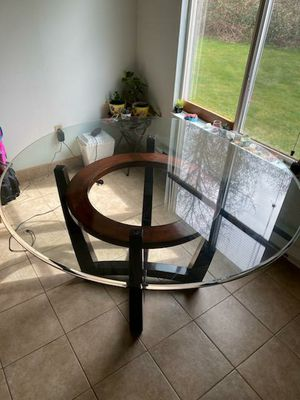 Glass dining table for Sale in Kent, WA
