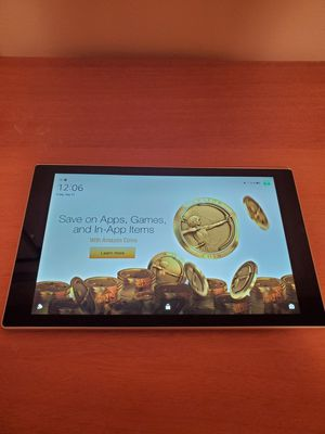 Amazon fire 10 tablet great condition works perfect like new for Sale in Lansing, MI