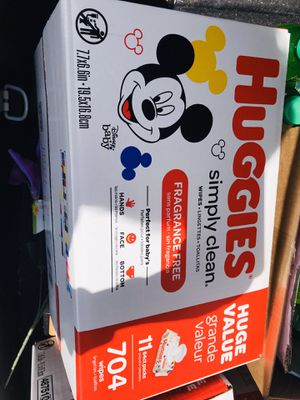 Huggies wipes $12 each for Sale in Columbus, OH