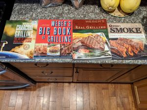 4 Weber Grilling Cookbooks for Sale in Whitney Point, NY