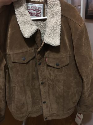 Levi brand new cowboy brown tan suede for Sale in Bronx, NY
