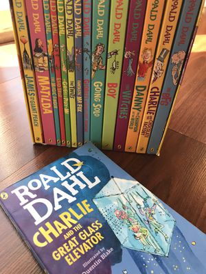Ronald Dahl book collection (1-15) for Sale in Downey, CA