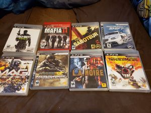 Ps3 Games for Sale in Richland, MO