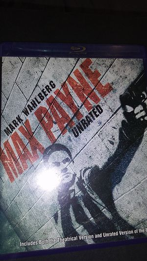 Max Payne unrated Blu-ray disc for Sale in Sprouses Corner, VA
