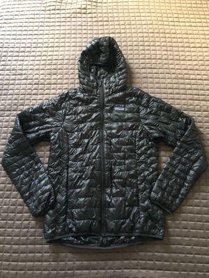 Patagonia Micro Puff Ultralight Hoody Jacket - Women's Small - Black - EUC! for Sale in Del Mar, CA
