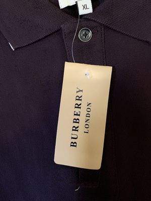 Burberry London Men's polo shirt short sleeves for Sale in Staten Island, NY