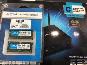 Zotac z box nano with 2x4 GB memory for Sale in Durham, NC