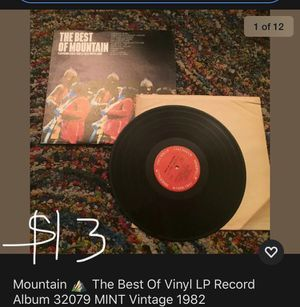 Mountain - The Best of Vinyl LP record album vintage for Sale in Cary, NC