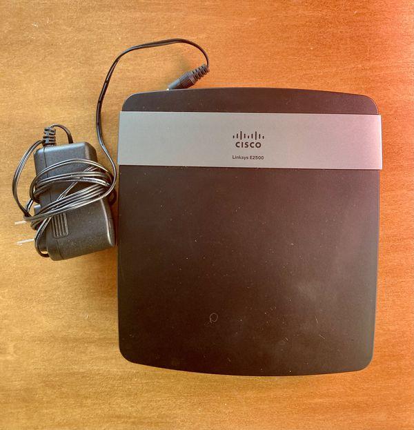 Cisco Linksys E2500 Wireless WiFi Router