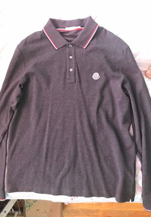 Moncler Long-sleeve Polo for Sale in Silver Spring, MD
