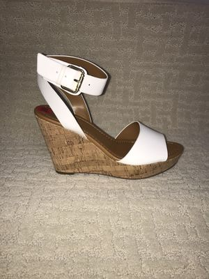 Tommy Hilfiger Maya Cork Wedge Heel Sandals New in box Size 10 for Sale in French Creek, WV