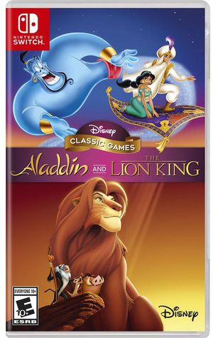 Disney Classic Games Aladdin and the Lion King for Sale in Apple Valley, CA