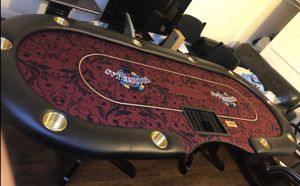 GoodFellas Poker Tables comes with (1) Tables (10) Chairs for Sale in Chatsworth, CA