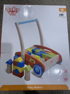 Wooden Baby Walker for Sale in Chino, CA