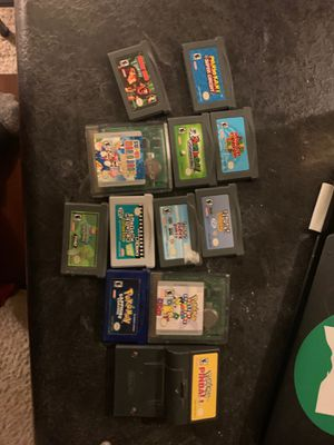 Lot of game boy games Pokémon Mario for Sale in Columbus, OH