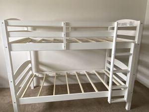 Children's Bunk Bed (White) for Sale in WILOUGHBY HLS, OH