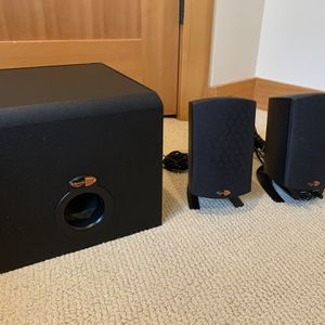 Klipsch ProMedia 2.1 Computer Speakers for Sale in Seattle, WA