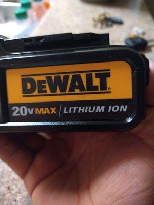 DeWalt 20V Max Lithium-Ion 3.0 for Sale in Chula Vista, CA