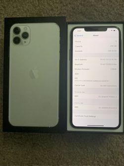 Apple iPhone 11 Pro Max - 256GB - Silver (Unlocked) A2161 (CDMA + GSM) for Sale in Traverse City,  MI