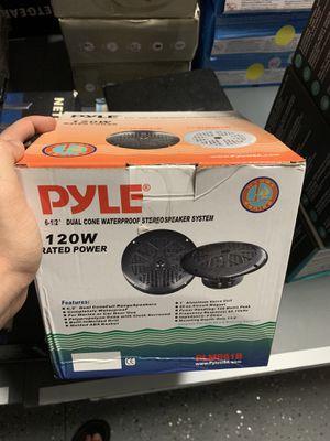 Pyle waterproof speakers for Sale in Sanford, FL