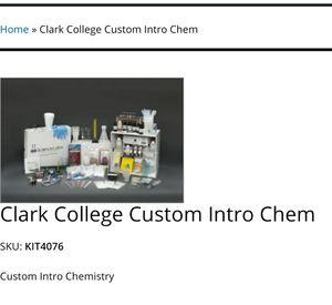 Chemistry Kit 4076 for Sale in Vancouver, WA